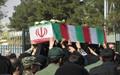 تشییع پیکرهای دو غواص شهید در آران و بیدگل
