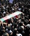 پیکر شهید مدافع حرم حضرت زینب(س) در مشهد تشییع شد