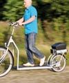 روی این دوچرخه پیادهروی کنید