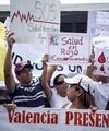 اعتراض بیماران ونزوئلایی به کمبود دارو
