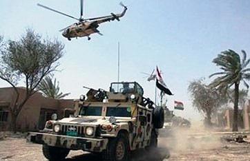 آغاز مرحله سوم عملیات ارتش عراق در رمادی