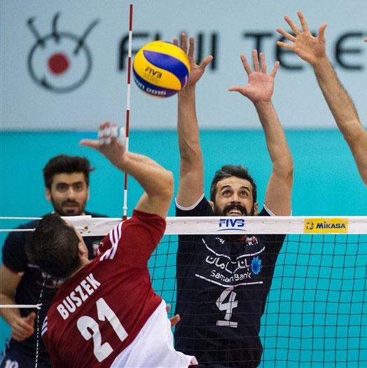 جام جهانی والیبال؛ ایران ۲ - لهستان ۳ / ایران بازی برده را واگذار کرد