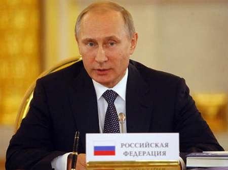 پوتین خواستار واقع بینی غرب در مبارزه با داعش شد
