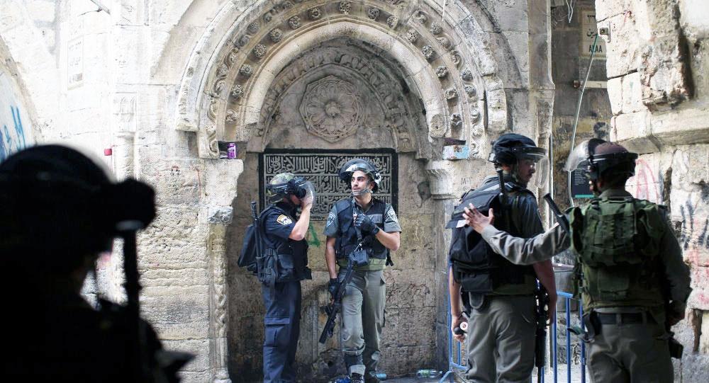 ادامه حملات صهیونیستها به مسجدالاقصی