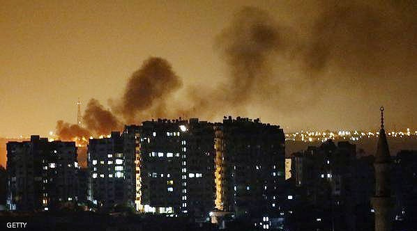 جنگندههای رژیم صهیونیستی مناطقی از غزه را بمباران کردند