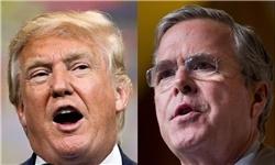 نبرد خطرناک و سنگین بوش سوم علیه دونالد ترامپ