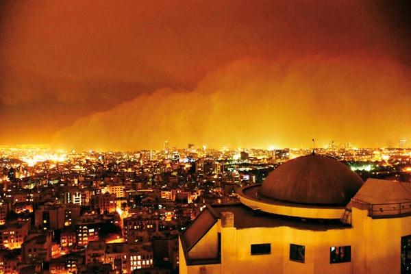 تهران-طوفان