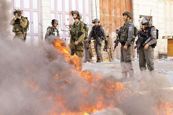 حمله هوایی به غزه، درگیری خیابانی در بیتالمقدس