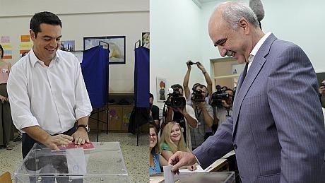 برگزاری انتخابات پارلمانی در یونان