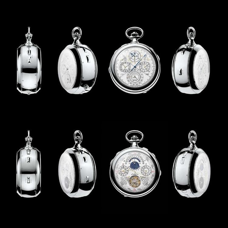 پیچیدهترین ساعت جیبی جهان را ببینید