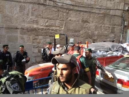 صهیونیست ها مسجدالاقصی را به محاصره در آوردند