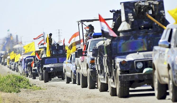 پیشروی ارتش عراق در رمادی