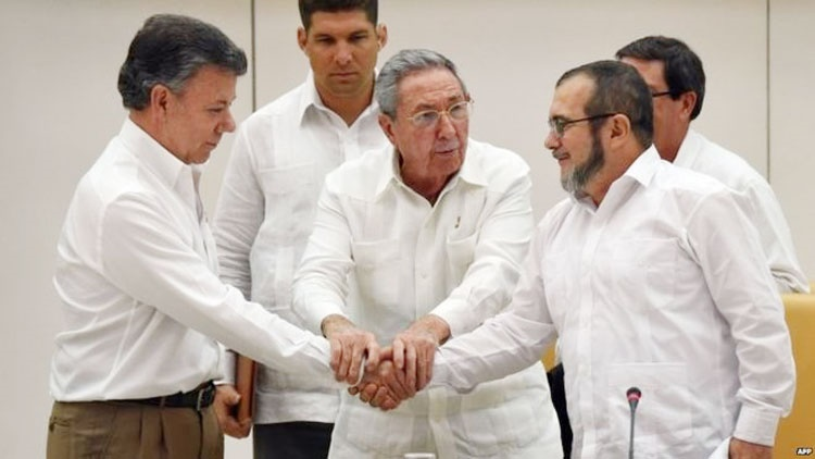 Colombia peace deal with Farc