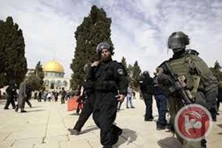 یورش مجدد نظامیان صهیونیست به مسجدالاقصی و نمازگزاران فلسطینی