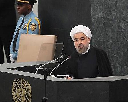 پخش زنده سخنرانی روحانی در سازمان ملل از شبکه یک سیما