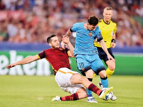 آزمون سخت بارسلونا در غیاب لیونل مسی