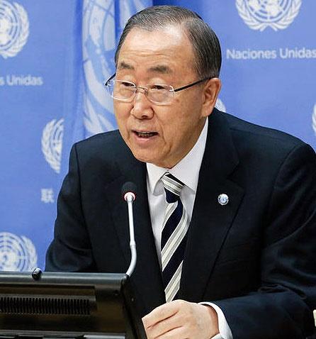 بان کی مون: شورای امنیت در برابر بحران سوریه شکست خورد