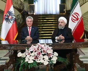روحانی رئیس جمهور اتریش