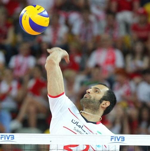 جام جهانی والیبال: برد ۳ بر ۱ ایران مقابل تونس