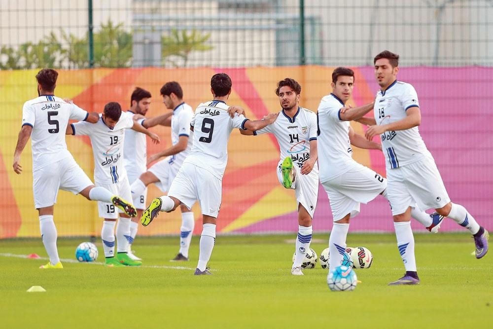گزارش اختصاصی همشهری ورزشی از تمرینات تیم ملی امید در قطر