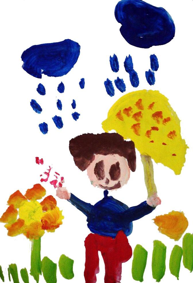 کودکانه | ابر و باران و گل