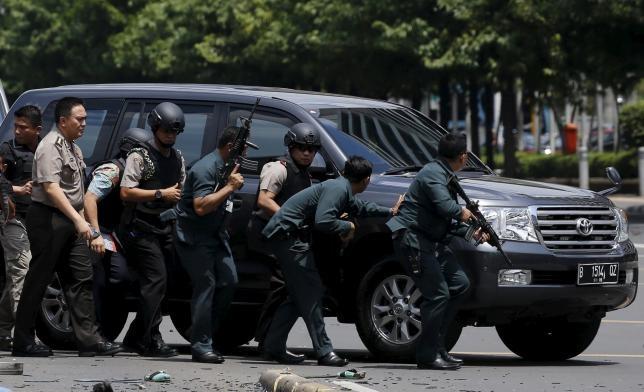 فیلم | شش کشته در انفجارهای اندونزی