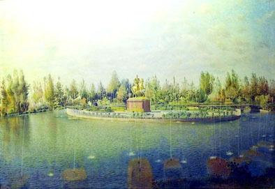 نقاشی کمال الملک از باغشاه