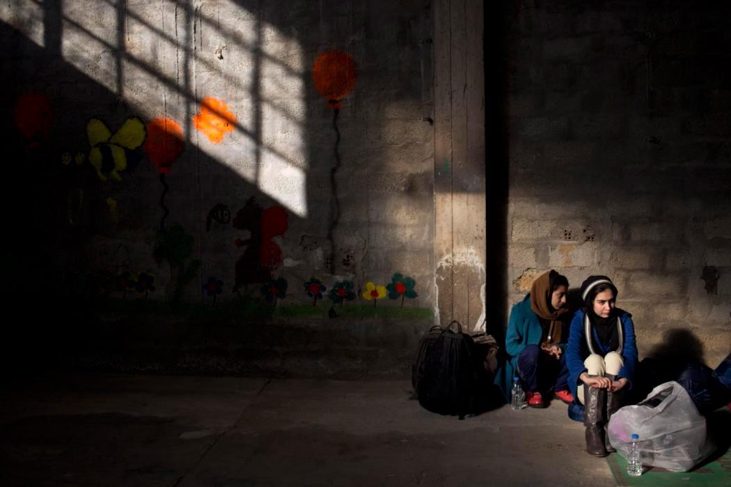 عکس خبری: زنان افغان در یونان