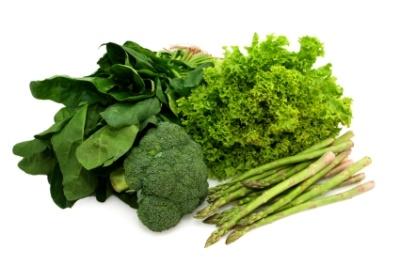 پیشگیری از آب سیاه با مصرف سبزیجات سبز