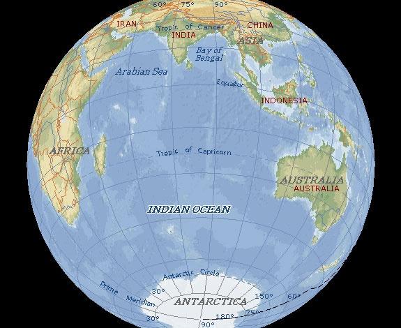 آشنایی با اقیانوس هند