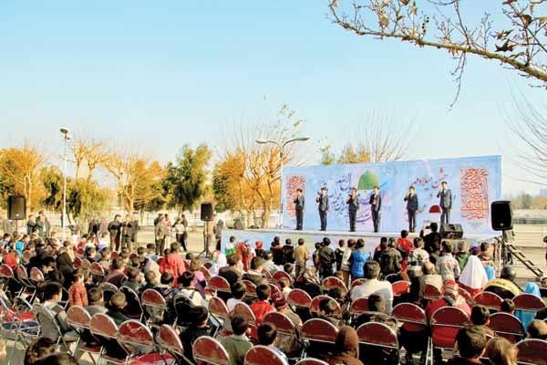 قلب تهران با حضور خانوادهها شاد شد