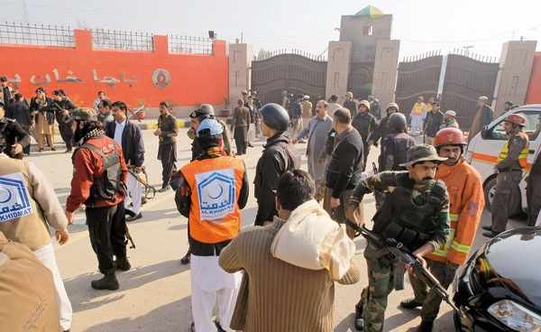 حمله طالبان به دانشگاهی در پاکستان