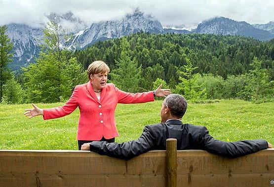 وعده اوباما به مرکل برای مدیریت بحران پناهجویان