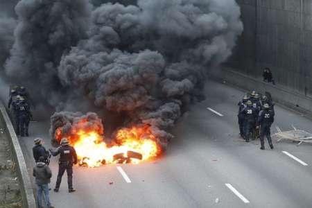 اعتصاب بزرگ در پاریس