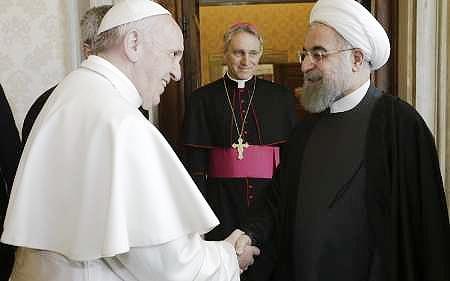 درخواست پاپ از ایران برای کمک به خاورمیانه
