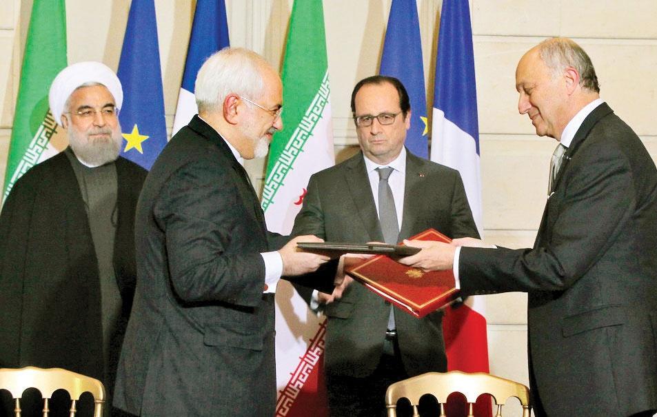 فصلی تازه در روابط تهران - پاریس
