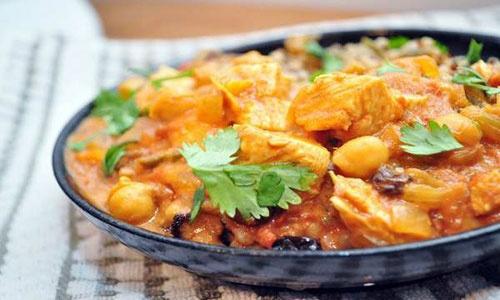 آشنایی با روش تهیه پلو مرغ طلایی (غذای هندی)