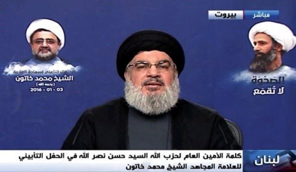 سید حسن نصرالله: خون شیخ النمر دامن آل سعود را خواهد گرفت