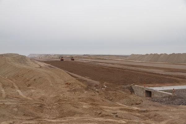 ساخت بزرگراه چرمشهر-  قزوین بدون انجام مطالعات باستانشناسی