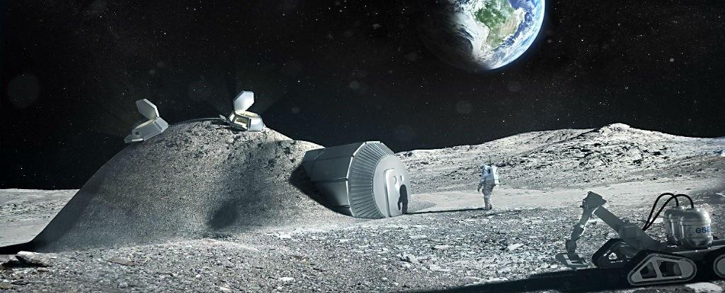 روستا در ماه