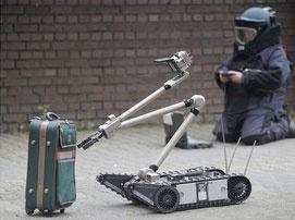 روبات خنثیکننده بمب ساخته شد