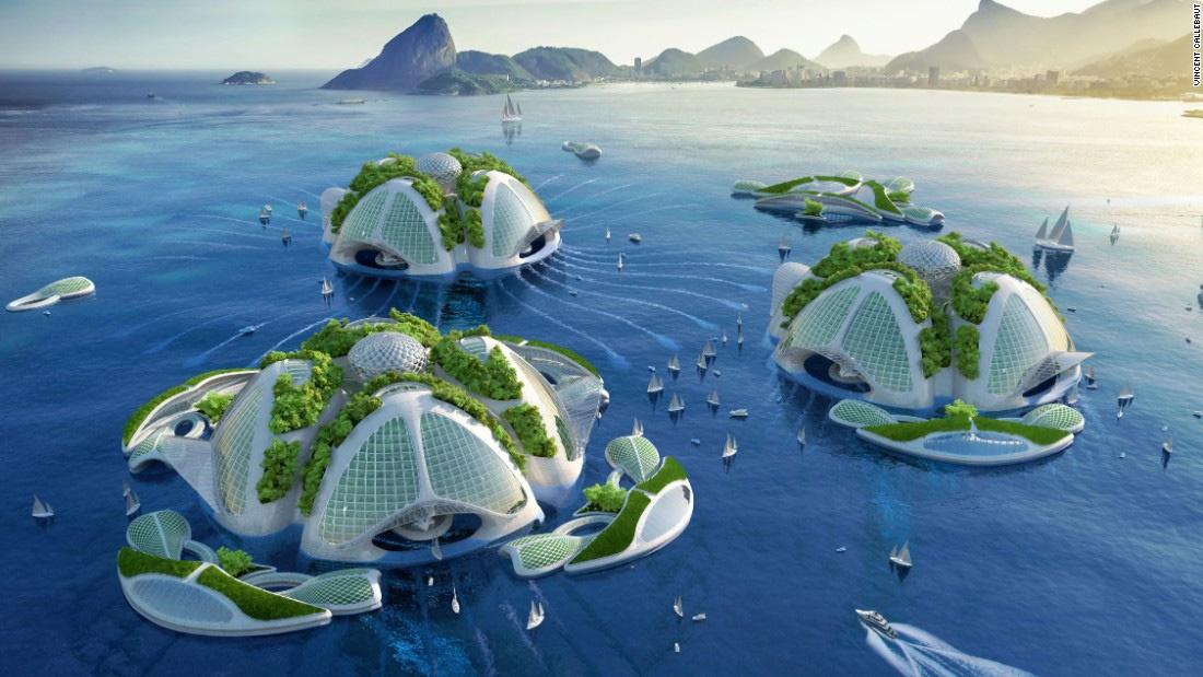 گزارش و تصاویر| اقیانوسخراشها ؛ برجهای وارونه در سطح اقیانوسهای جهان