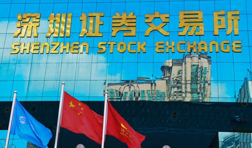 Shenzen stock exchanges