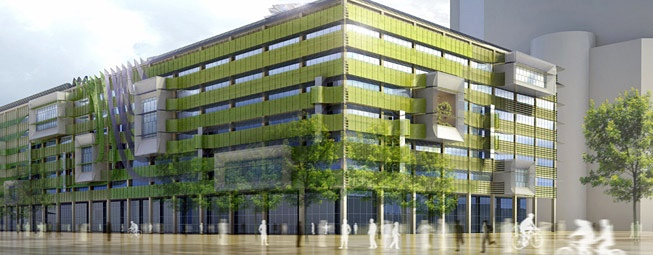 آشنایی با ساختمان سبز