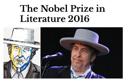 باب دیلن برنده نوبل ادبی ۲۰۱۶