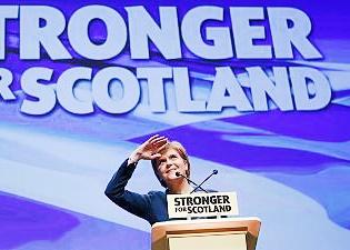 نیکولا استروجن، وزیر اول اسکاتلند