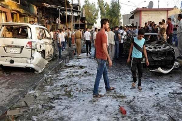 ۶۹ شهید و زخمی در عملیات تروریستی شمال بغداد