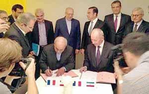 دولت سرسفره قرارداد جدید رنو