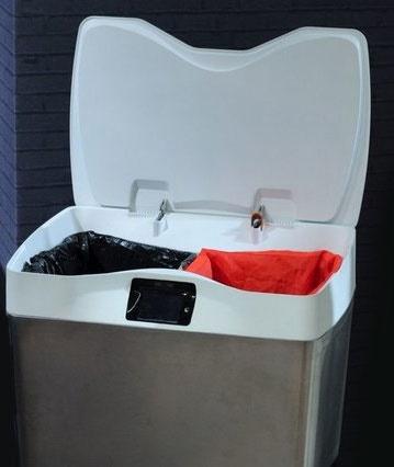 سطل زباله هوشمند برای آموزش تفکیک زباله