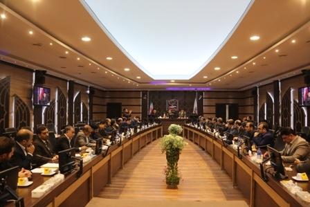 نشست تخصصی مدیران کل پدافند غیرعامل استانداریهای سراسر کشور برگزار شد
